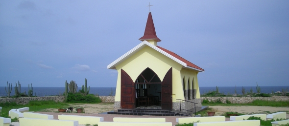 Aruba Chapel on the cliffs