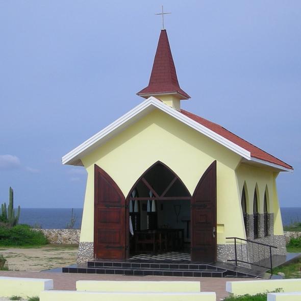 Aruba Chapel on the cliffs