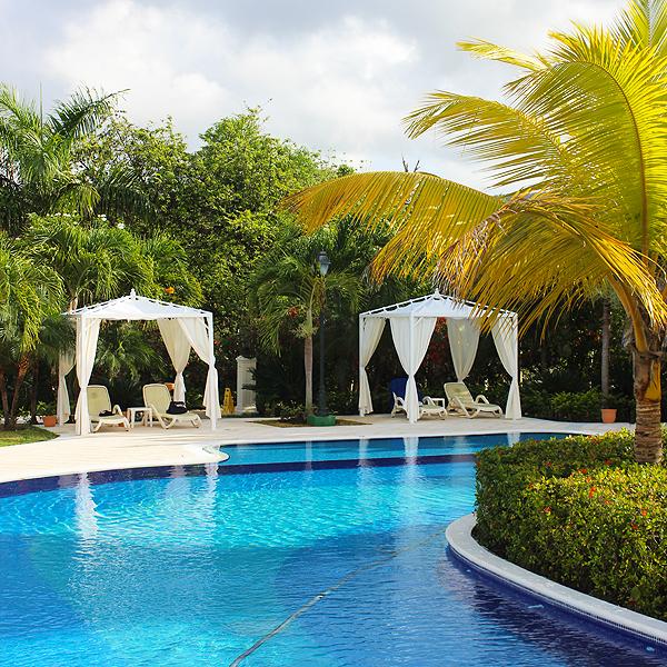 Lagoon style pools