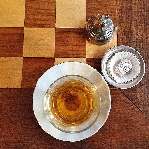 Turkish Tea and Turkish Delight