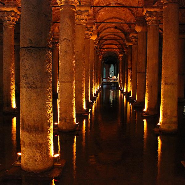Turkey Basilica Cistern