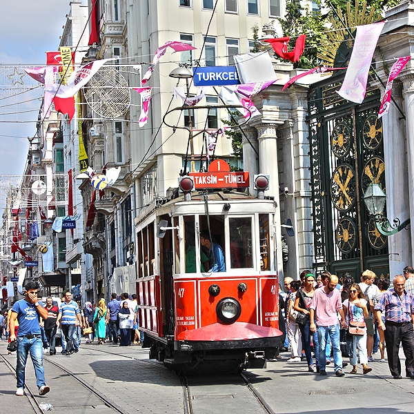 Istanbul Red Tram