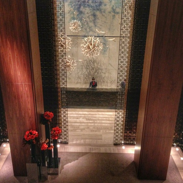 Lobby of the Four Seasons Toronto