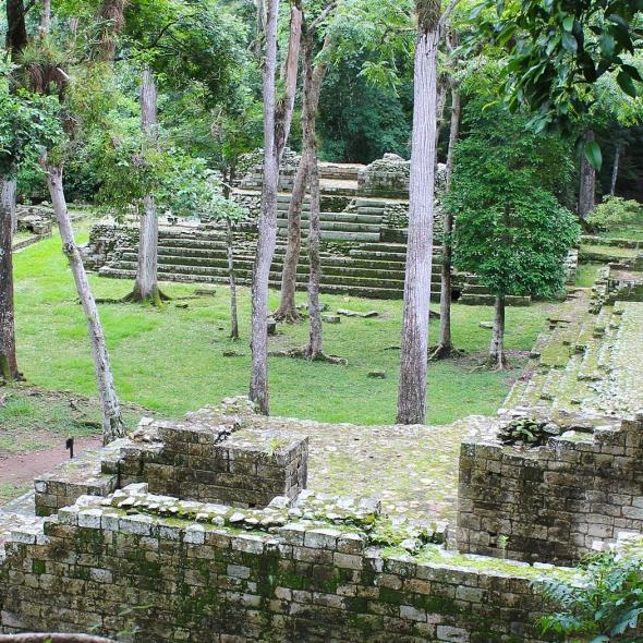 Mayan Ruins Honduras