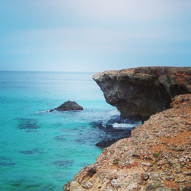Cliffs in Aruba