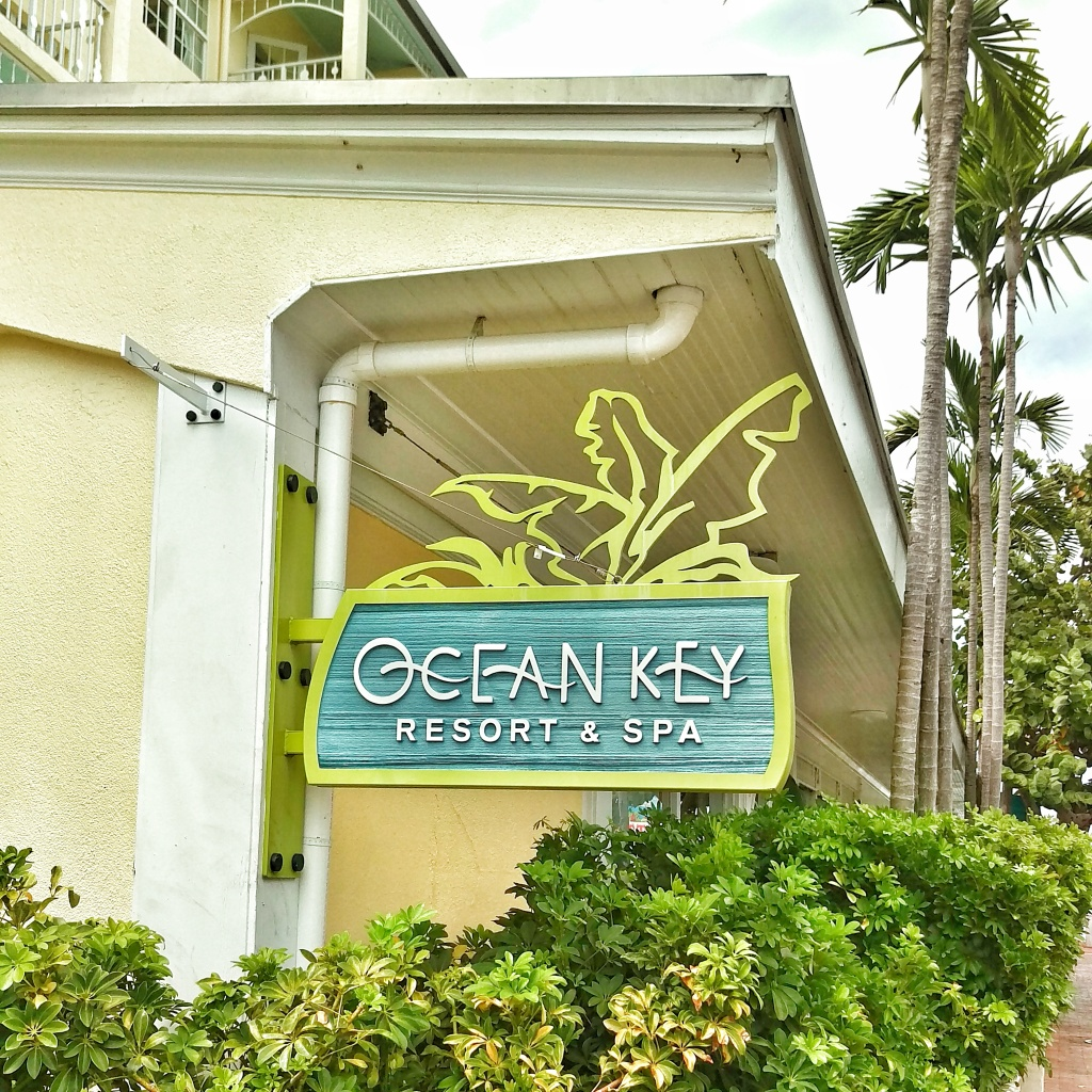 Ocean Key Resort Signage