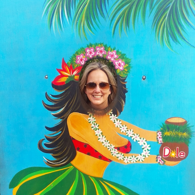 Hula Girl Photo opportunity