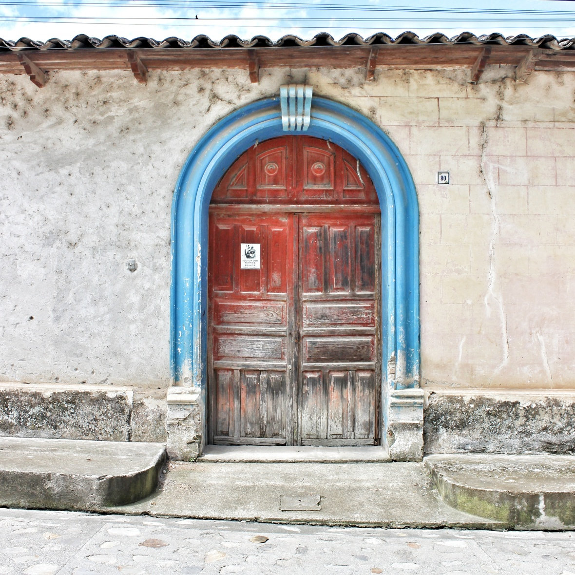 Gallery door in Honduras