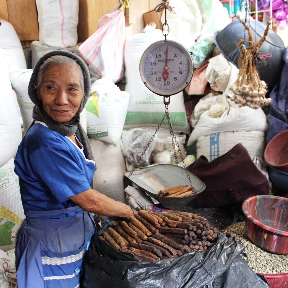 Local Market Gracias Honduras