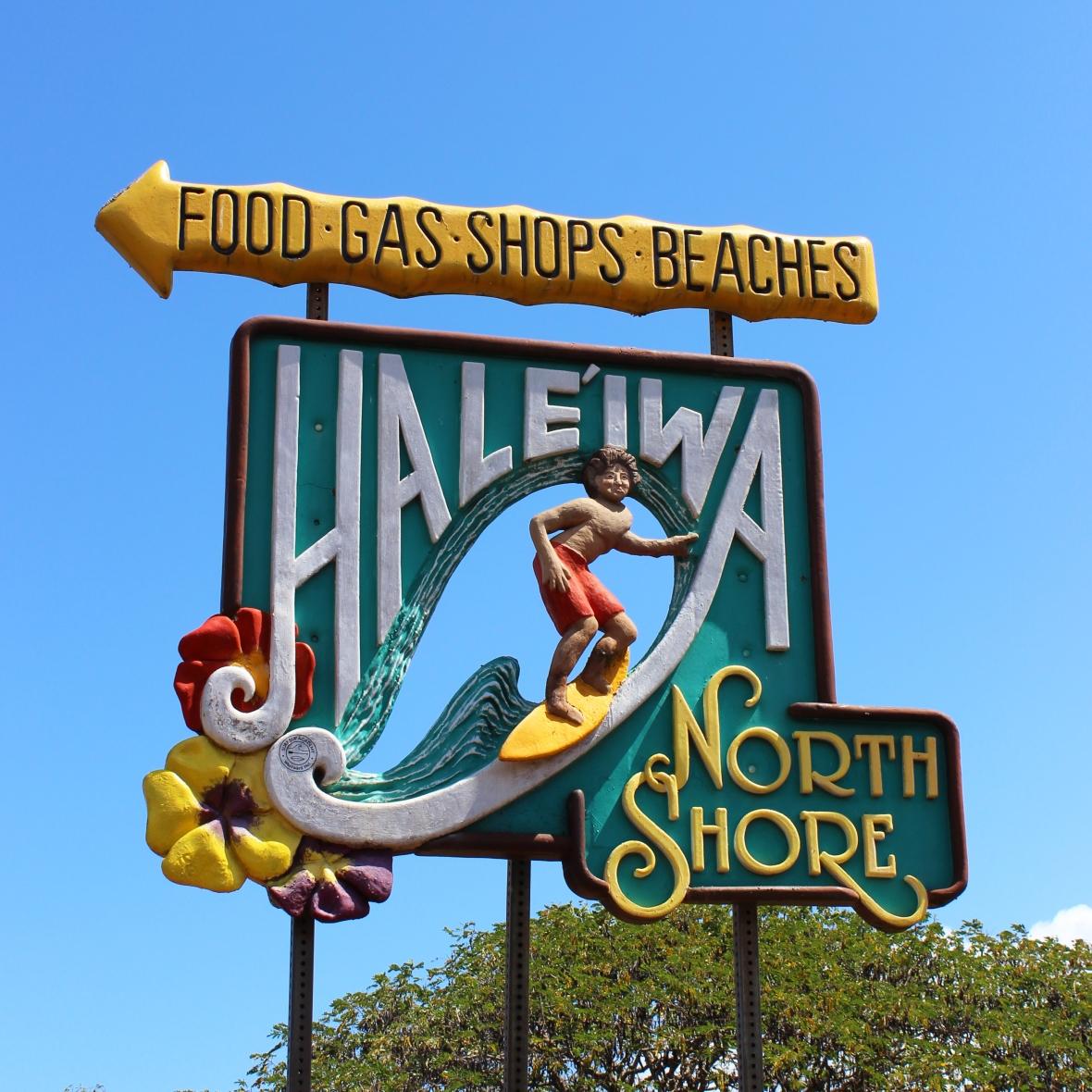Hale'iwa North Shore Sign