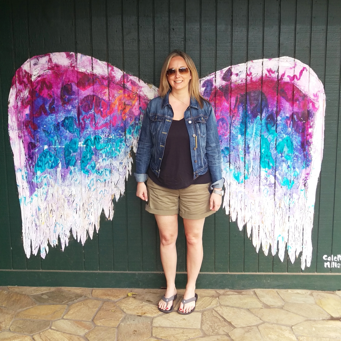 Colette Miller Wings in Haleiwa