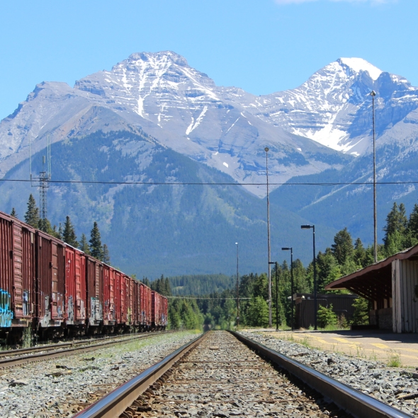 Banff CP Rail Station