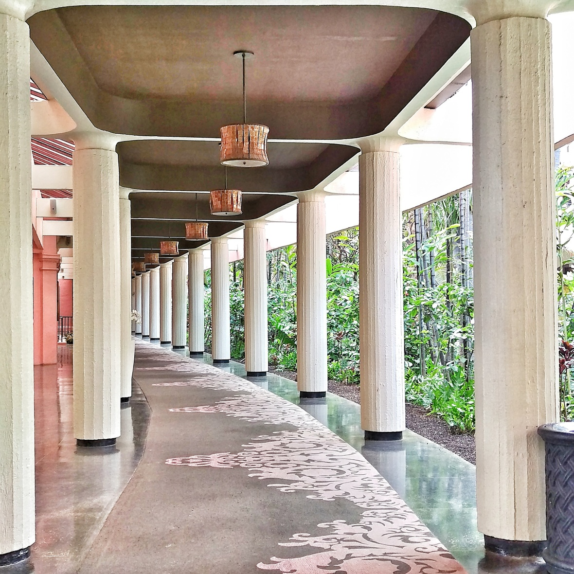 The Royal Hawaiian Hallways