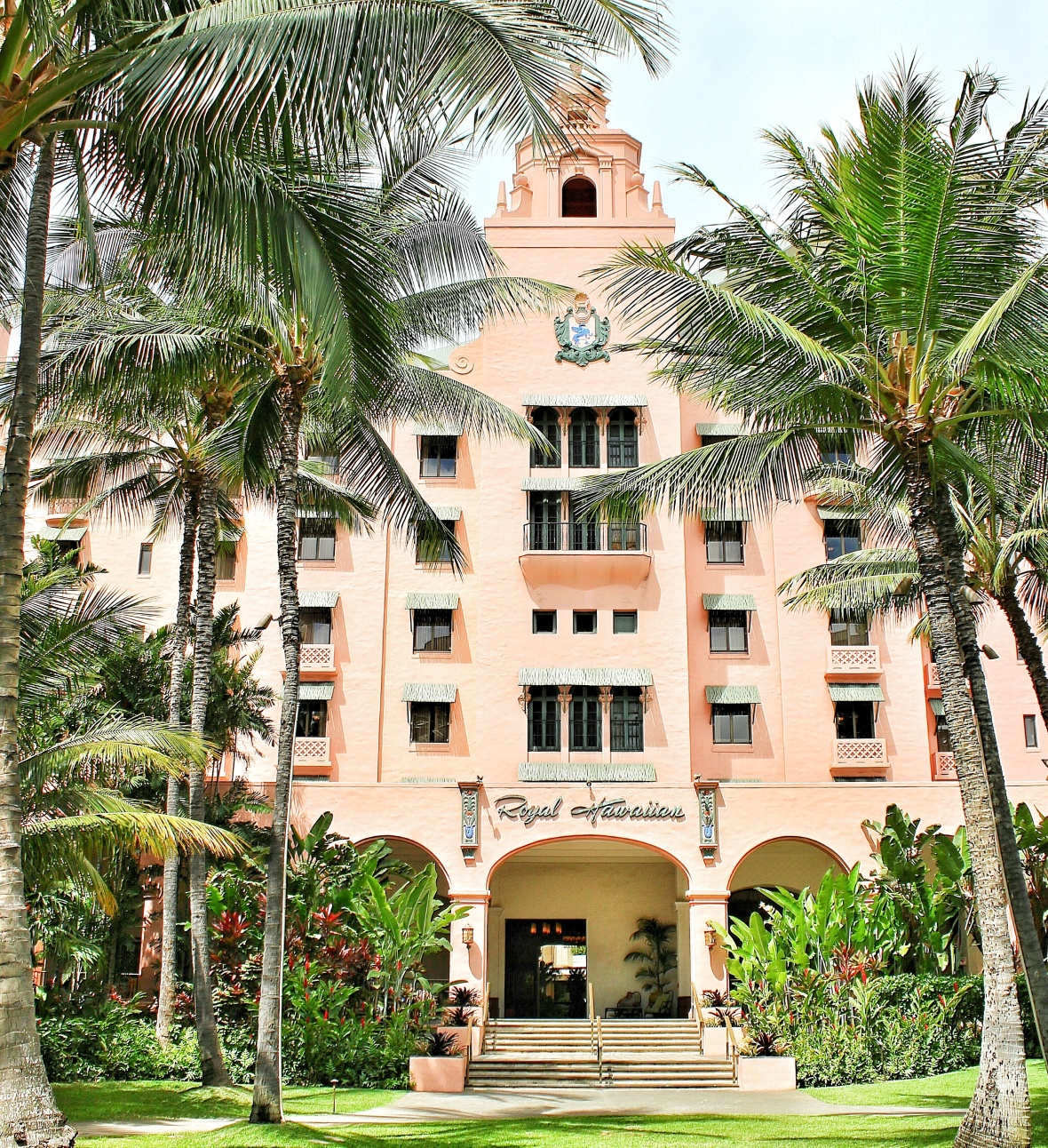 The Royal Hawaiian Hotel or The Pink Palace