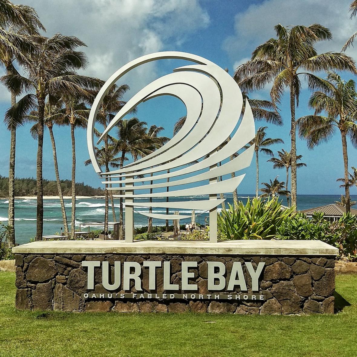 Turtle Bay Resort Signage