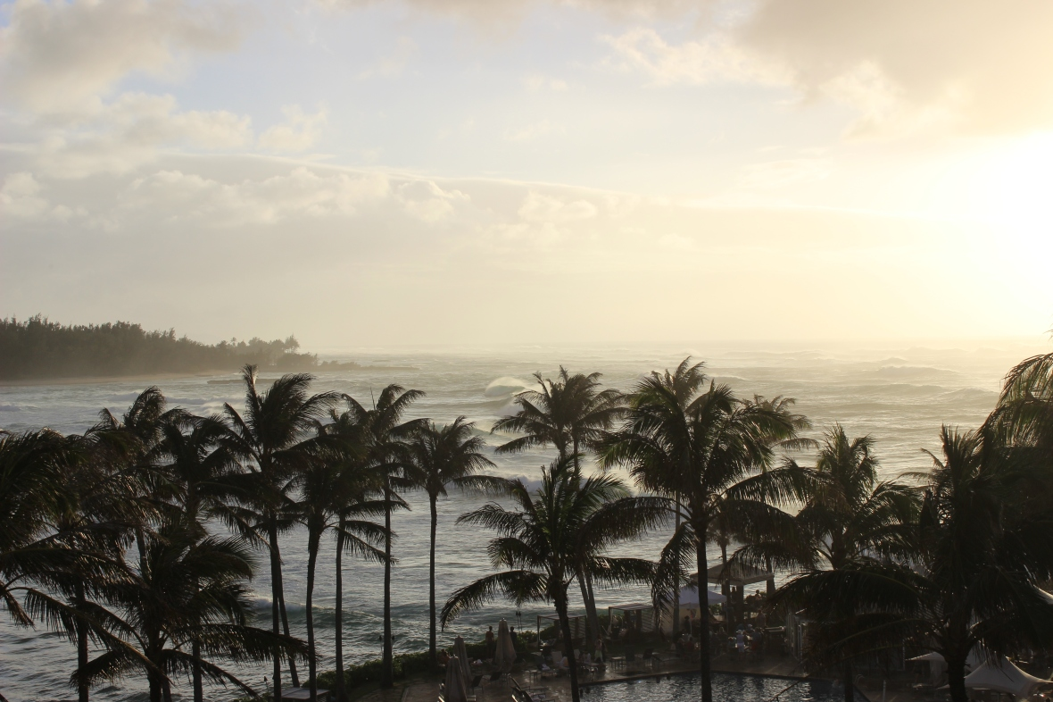 Evening Views from the Balcony at Turtle Bay