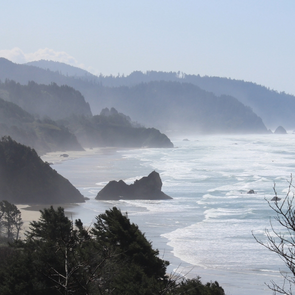 The Picturesque Oregon Coast