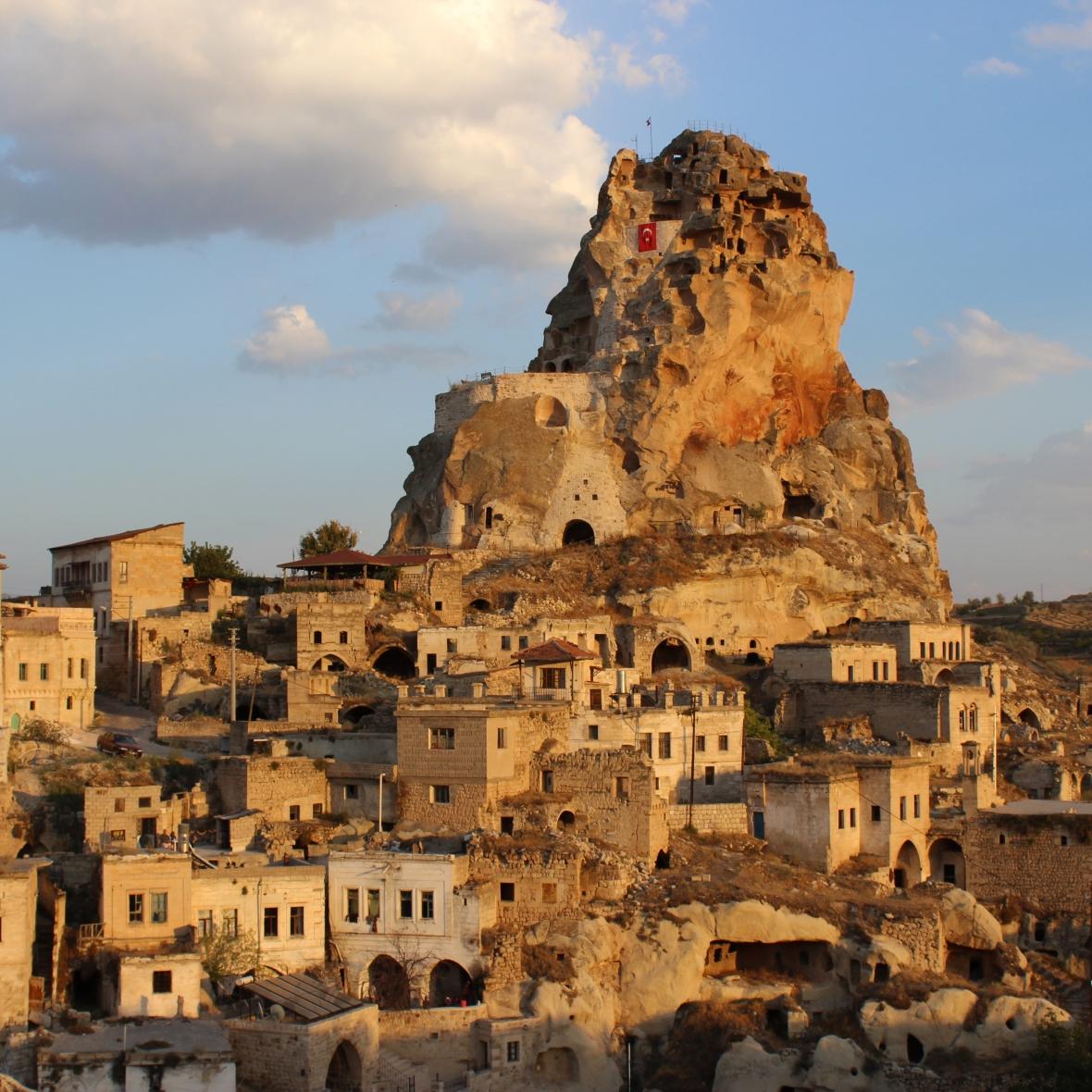 Ortahisar Castle Cappadocia