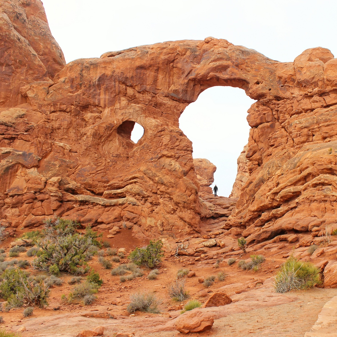 Turret Arch - arches national park utah