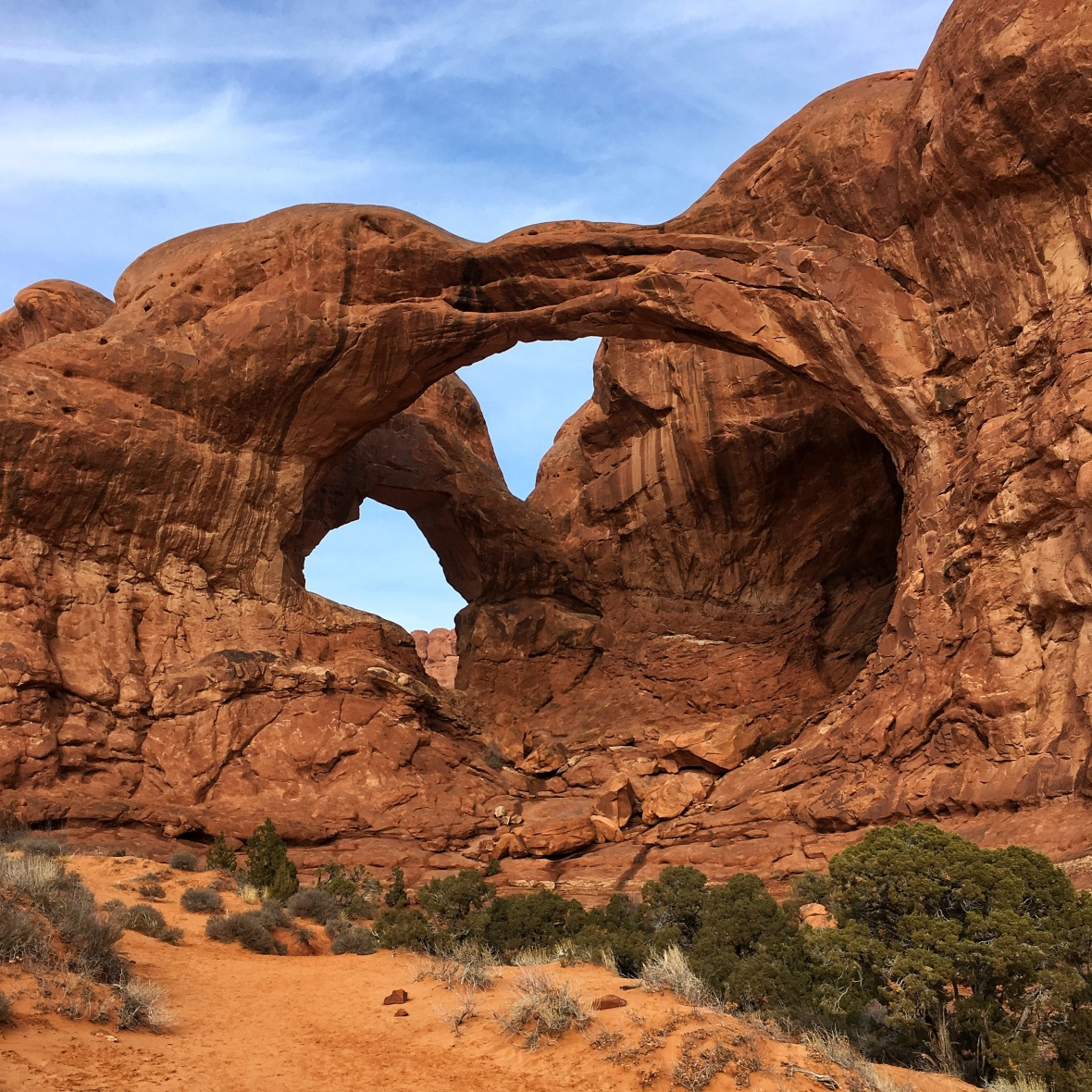 Double Arches - Moab