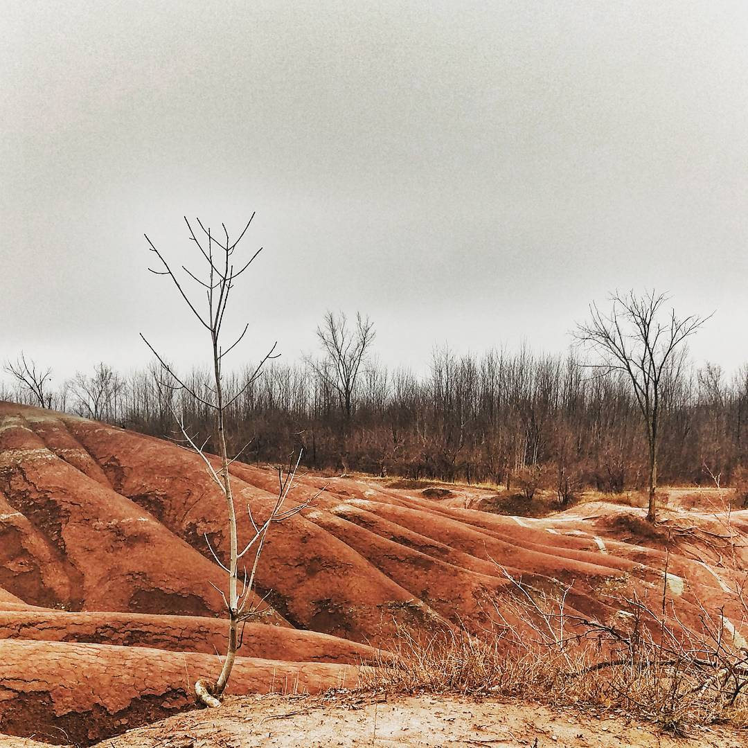 Cheltenham Badlands in Ontario