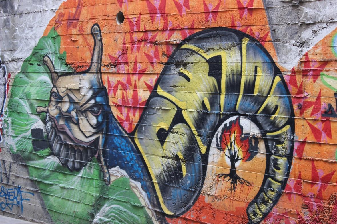 Omeria Graffiti in Istanbul
