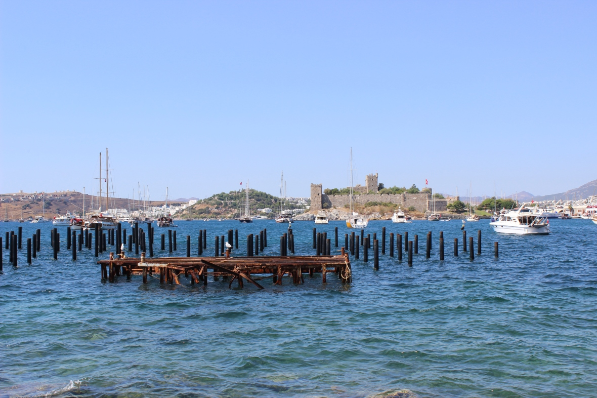Views of the Bodrum Castle