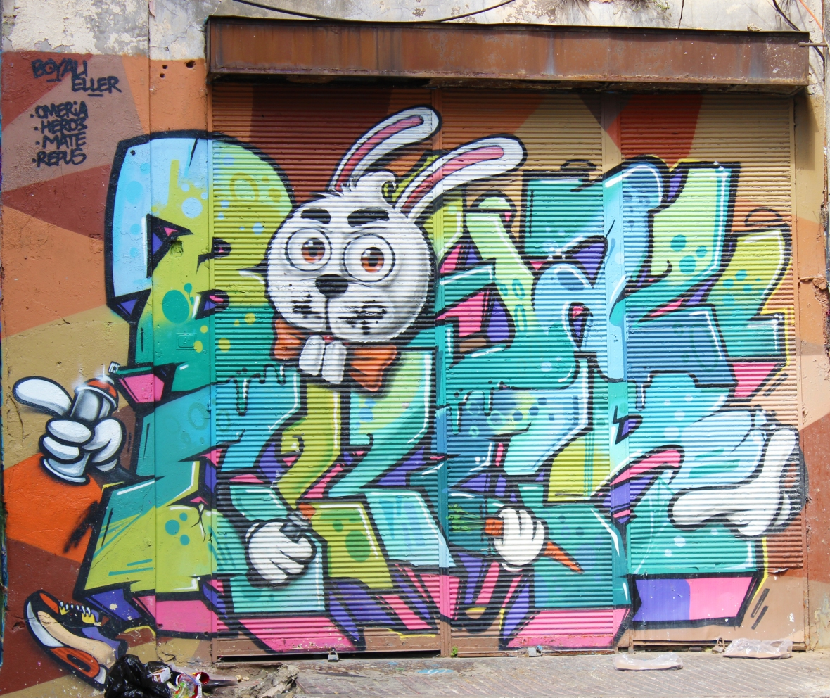 Instanbul Graffiti by Boyali Eller