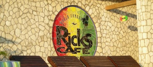 Rick's Cafe Signage Jamaica