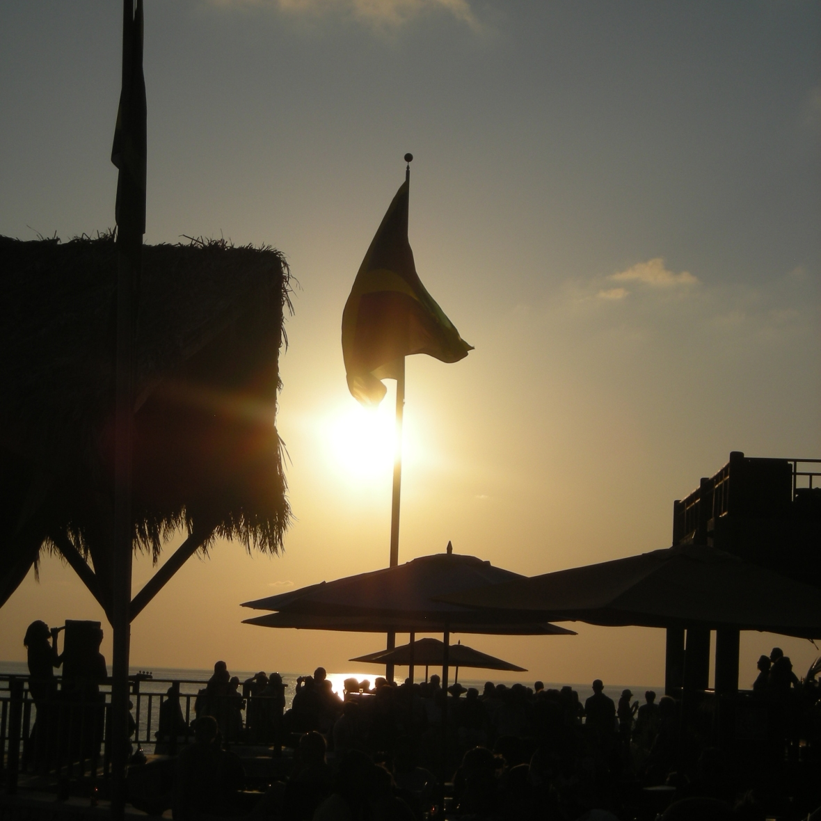 Sunset at Ricks Cafe Jamaica