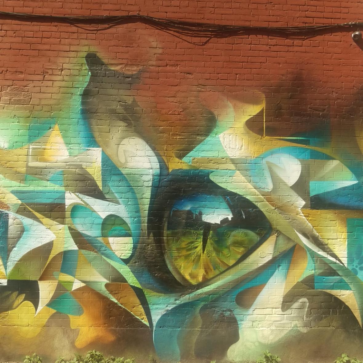 Graffiti Alley - Eye