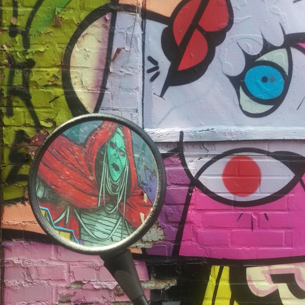Graffiti Reflection