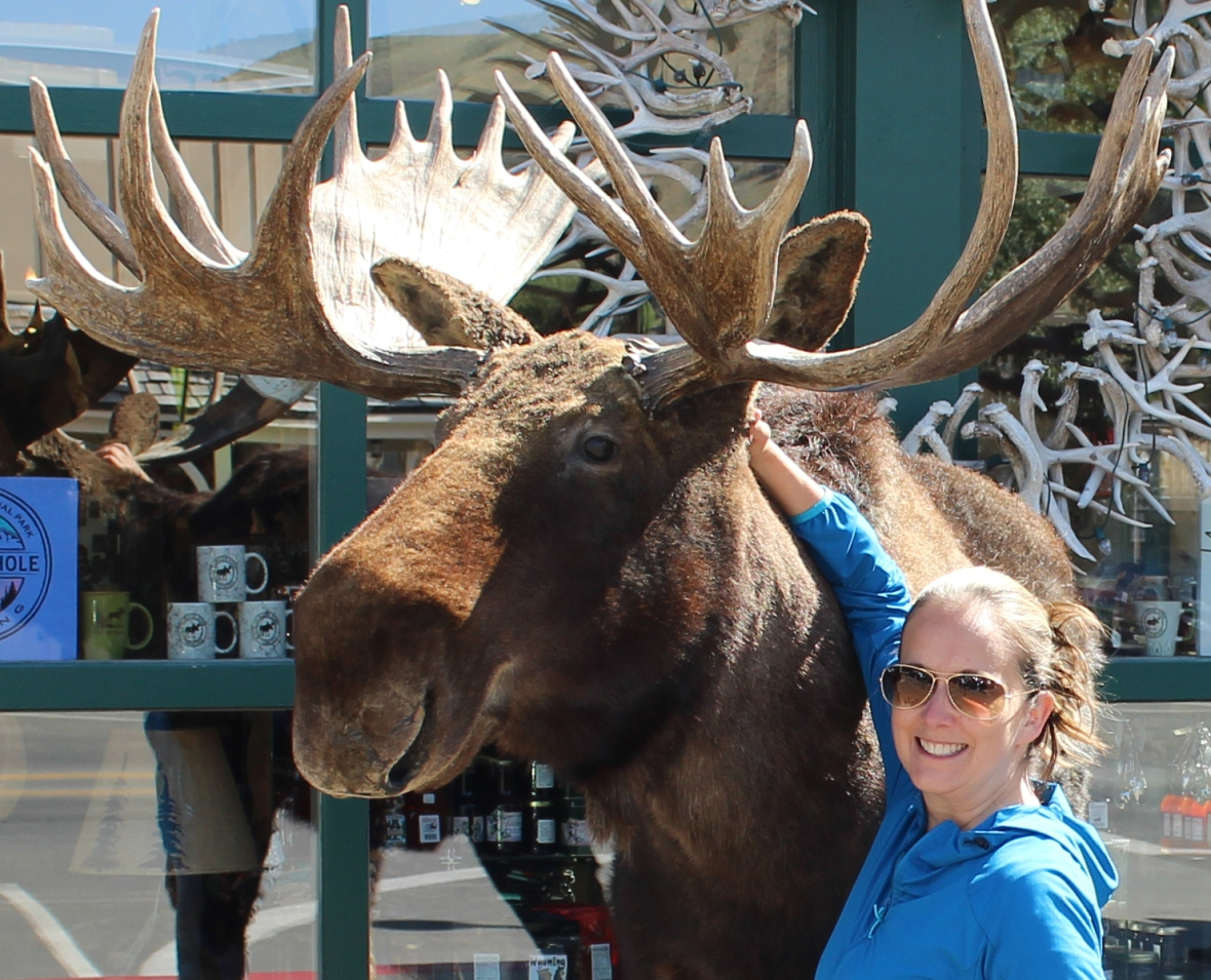 Being a tourist in Jackson Hole, Wyoming