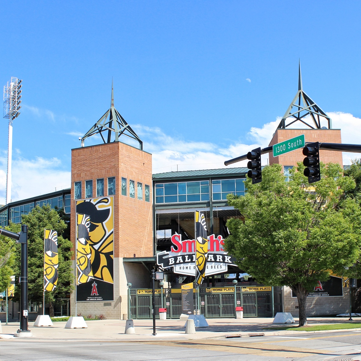 Smith's Ballpark where the SLC Bees play