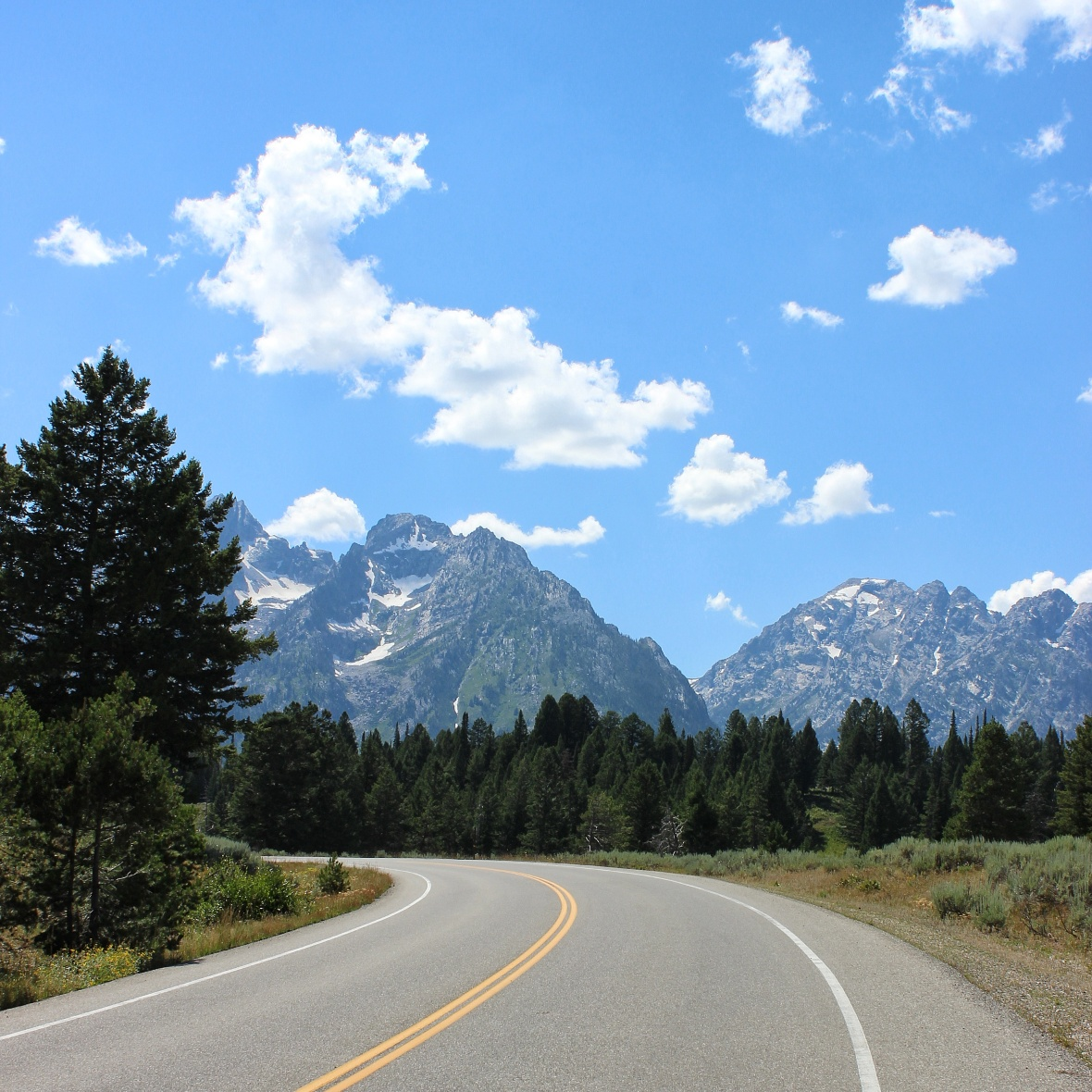 Road Trip through the Grand Teton National Park