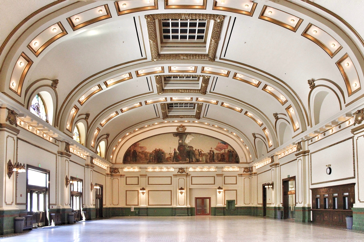 Union Pacific Railroad - Interior Architecture