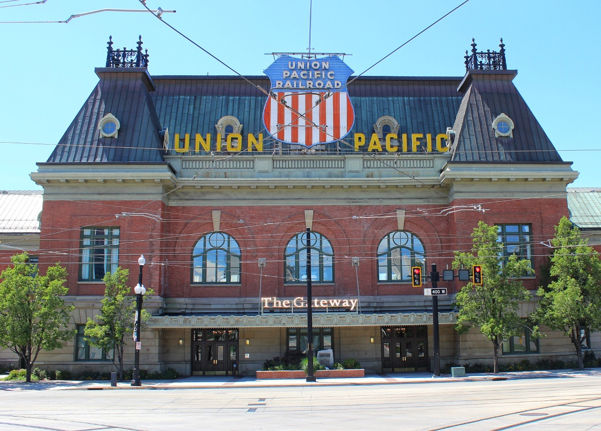 Union Pacific Railroad in SLC