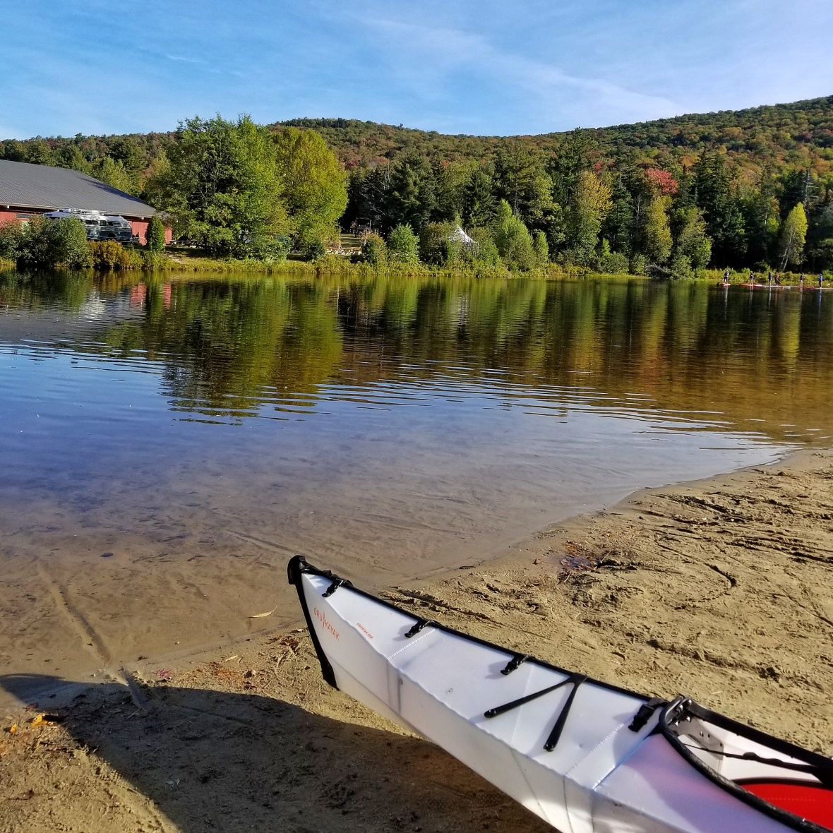 Kayaking at Waterville Valley