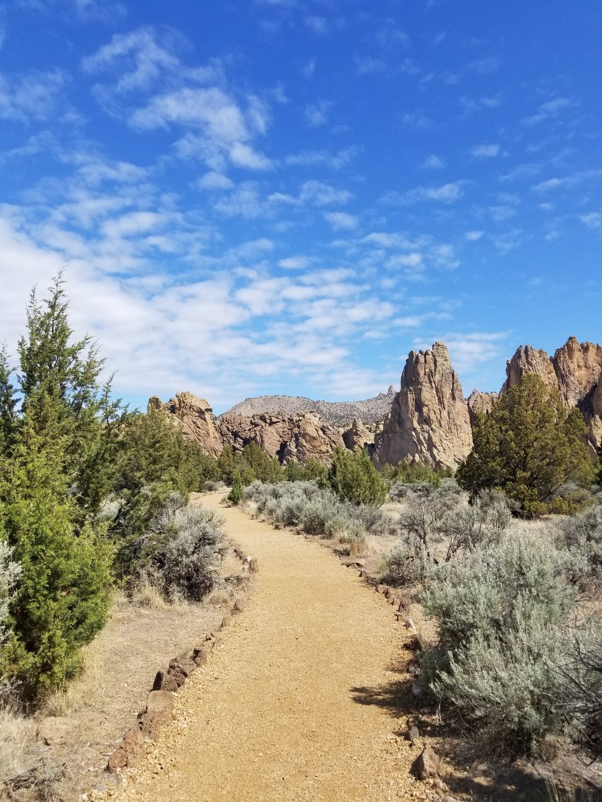 Smith Rocks in Oregon