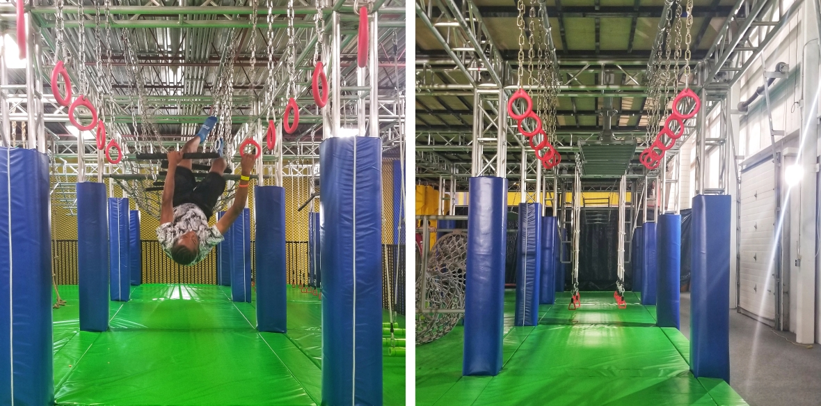 aerosports ninja warrior course