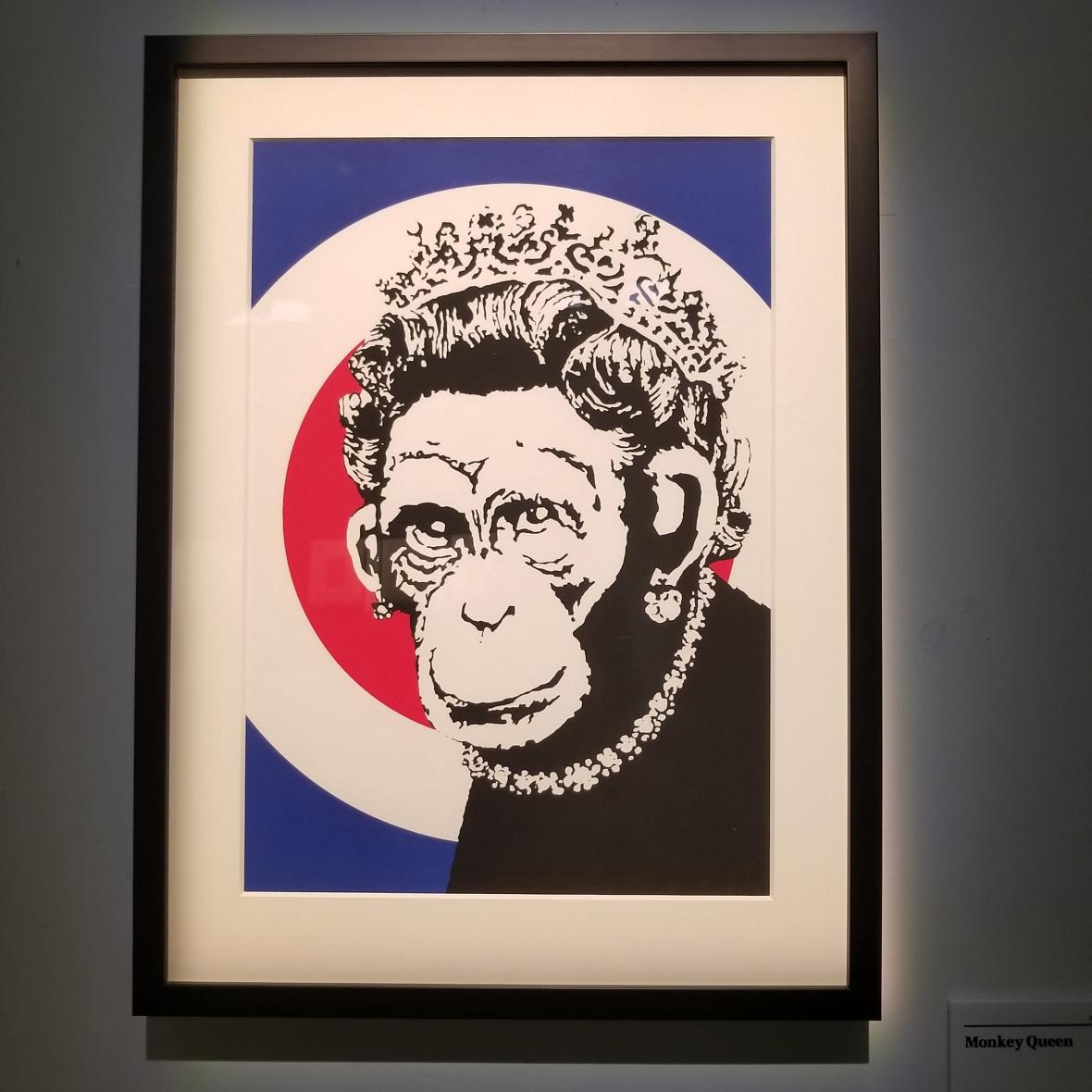 Banksy Queen