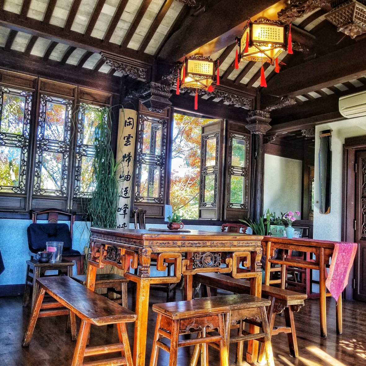 LAn Su - Inside Tea Room