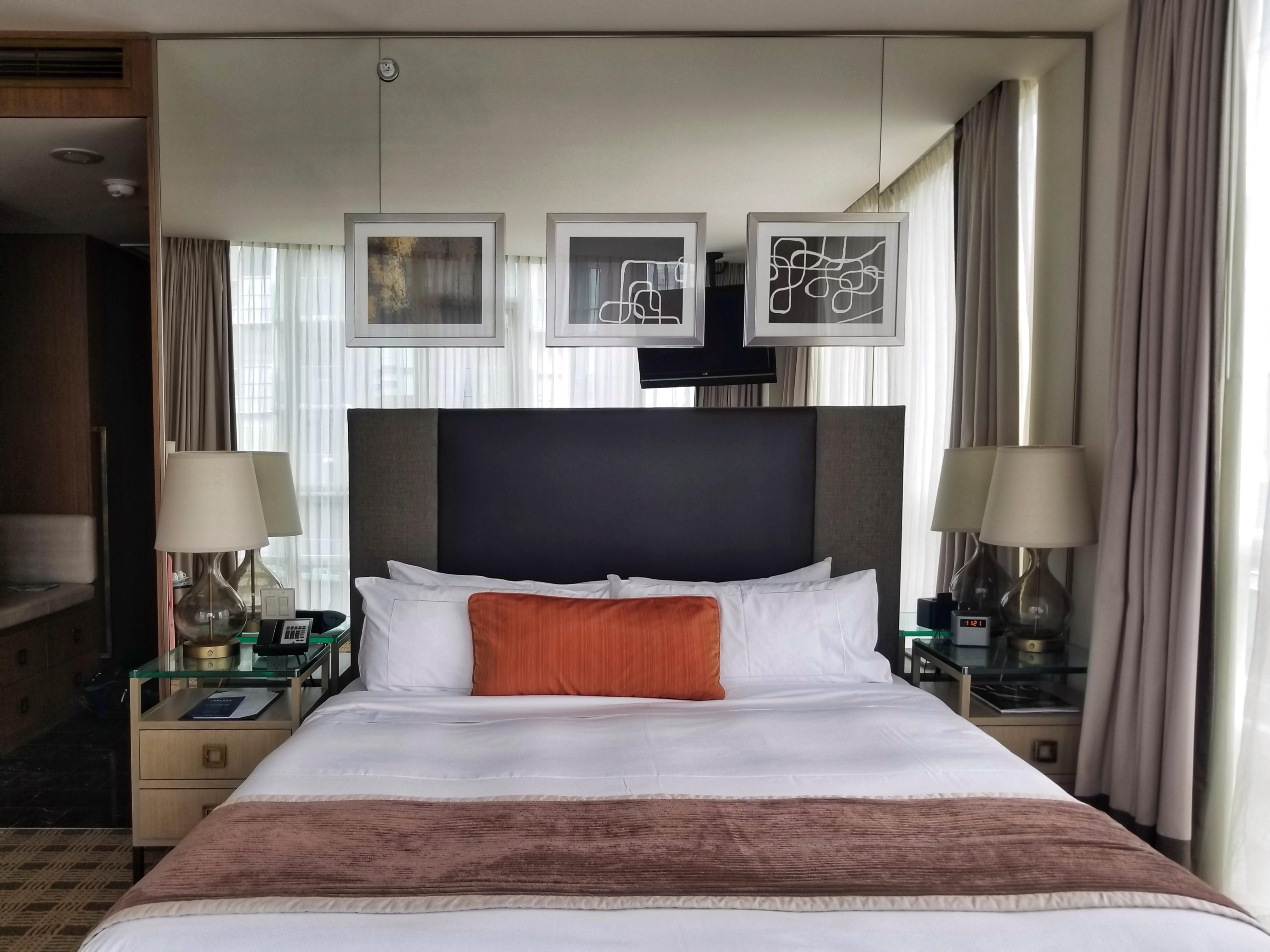 Loden Hotel Signature Corner Room